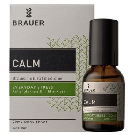 Brauer Natural Calm Oral Spray 20ml | BRAUER NATURAL