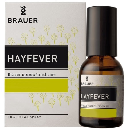 Brauer Natural Hayfever Oral Spray 20ml | BRAUER NATURAL