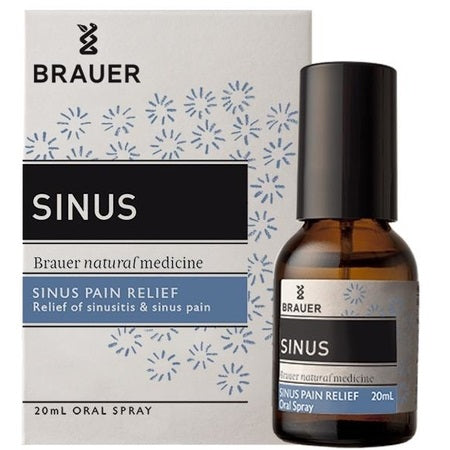 sinus relief oral spray 20ml | BRAUER NATURAL