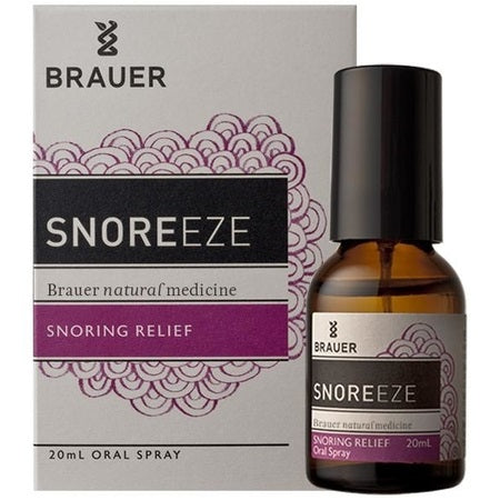 Brauer Natural Snore-Eze Oral Spray 20ml | BRAUER NATURAL