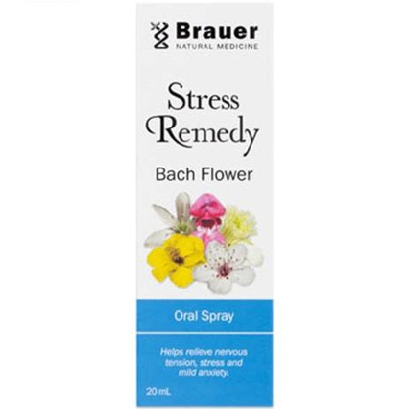 Brauer Natural Bach Flower Stress Remedy Oral Spray 20ml | BRAUER NATURAL