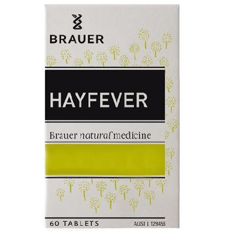 Brauer Natural Hayfever Relief 60Tabs | BRAUER NATURAL