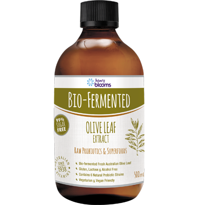 bio fermented olive leaf extract 500ml | BLOOMS