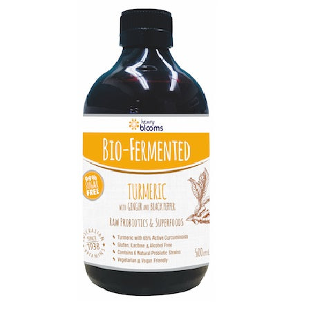 Blooms Bio Fermented Turmeric With Ginger And Black Pepper 500ml | BLOOMS