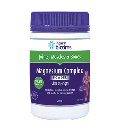 Blooms Magnesium Complex Powder 200g Magnesium (Mg) | BLOOMS