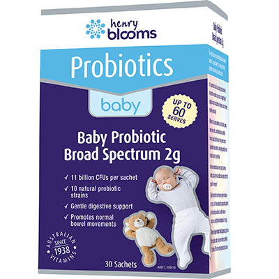 Blooms Baby Broad Spectrum Probiotics 30 X 2g Sch | BLOOMS