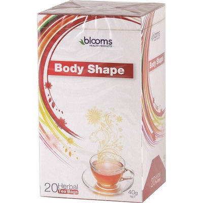 Blooms Body Shape Teabags 20Pk Complex | BLOOMS