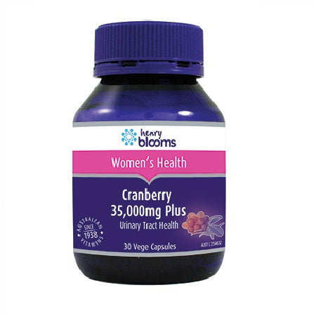cranberry 35000mg +vitamin c & silica 30caps cranberry | BLOOMS