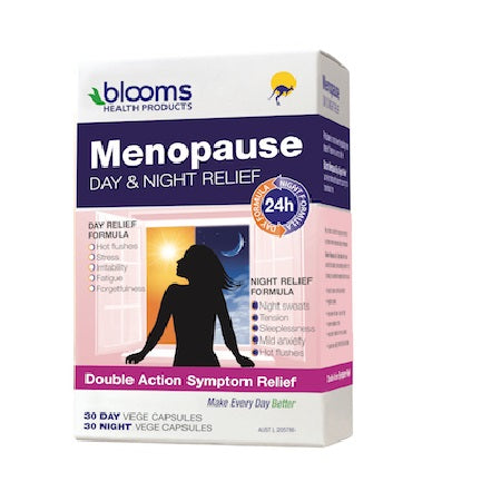 Blooms Menopause Day Night Relief 60Caps | BLOOMS