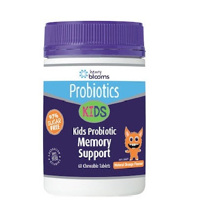 Blooms Kids Probiotic Memory Support 60Ctabs | BLOOMS