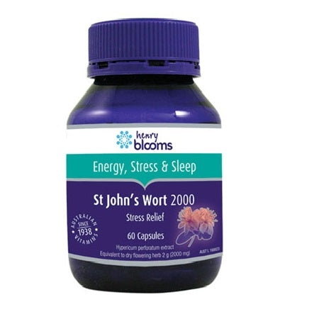 st johns wort 2000mg 60caps | BLOOMS