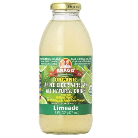 Bragg Apple Cider Vinegar W Limeade Organic 473ml | BRAGG