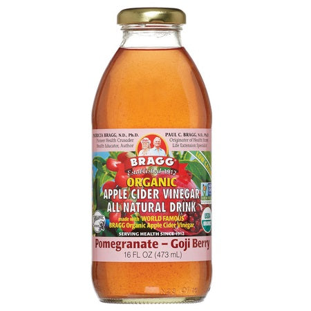 Bragg Apple Cider Vinegar W Pomegranate & Goji Oranic 473ml | BRAGG