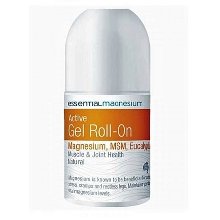 Essential Magnesium Magnesium Active Gel Roll On 75ml | ESSENTIAL MAGNESIUM