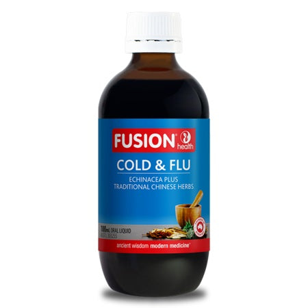 Fusion Health Cold & Flu 200ml Isatis Root & Leaf | FUSION HEALTH