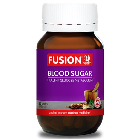 Fusion Health Blood Sugar 60Tabs AMLA | FUSION HEALTH