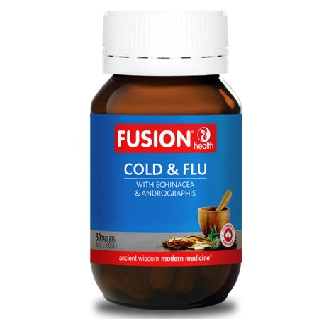 Fusion Health Cold & Flu 30Tabs Isatis Root & Leaf | FUSION HEALTH
