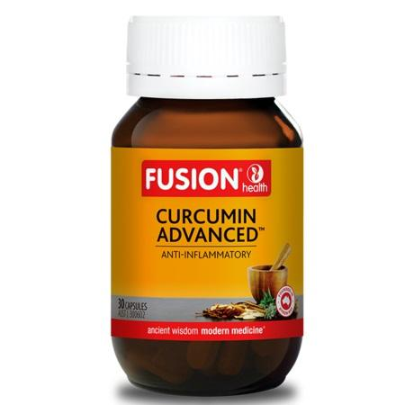 Fusion Health Curcumin Advanced 60Caps Curcumin C3 | FUSION HEALTH
