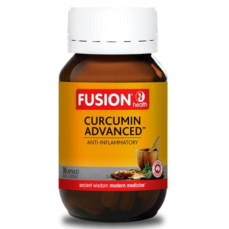 Fusion Health Curcumin Advanced 30Caps Curcumin C3 | FUSION HEALTH