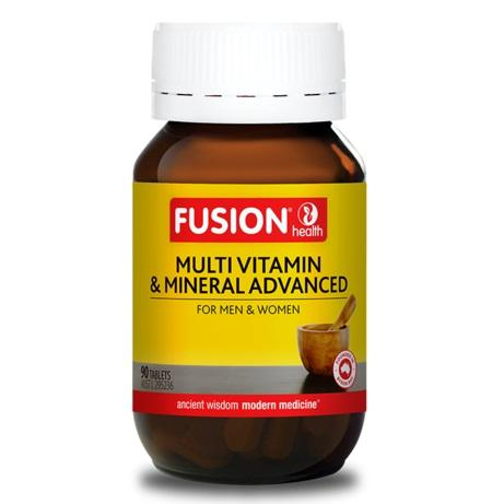 Fusion Health Multi Vitamin Advanced 90Tabs | FUSION HEALTH