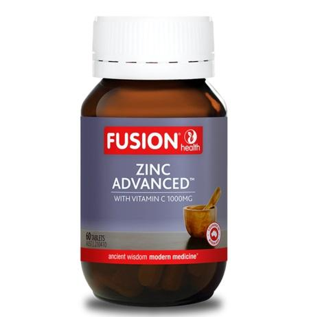 Fusion Health Zinc Advanced 60Tabs Zinc Glycinate | FUSION HEALTH