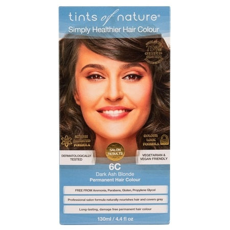 Tints Of Nature Dark Ash Blonde Permanent 6C 130ml | TINTS OF NATURE