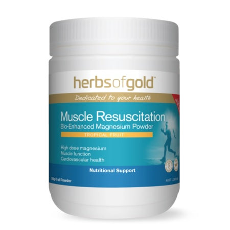 Herbs of Gold Muscle Resuscitation 300g Magnesium (Mg) | HERBS OF GOLD