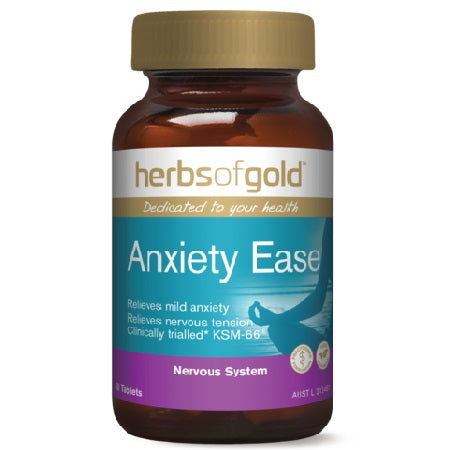 anxiety ease 60tabs complex | HERBS OF GOLD