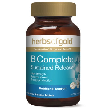 Herbs of Gold B Complete Sustained Release 60tabs Complex | HERBS OF GOLD