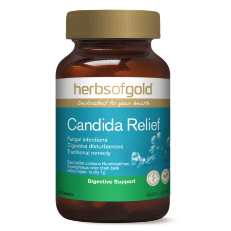 CANDIDA RELIEF 60Tabs Pau d'Arco (Handroanthus ssp.) | HERBS OF GOLD