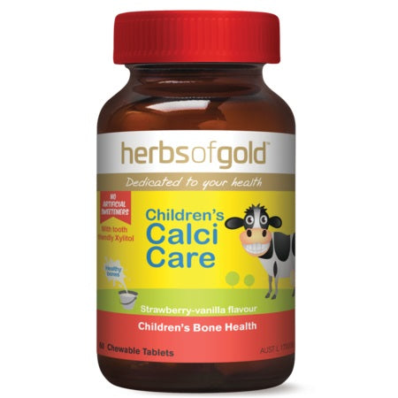 Herbs of Gold Children's Calci Care 60ctabs Calcium (Ca) | HERBS OF GOLD