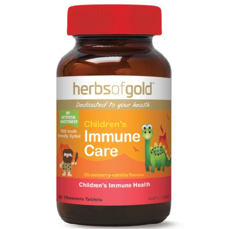 Herbs of Gold Children's Immune Care 60ctabs Complex | HERBS OF GOLD