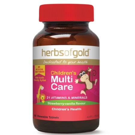 Herbs of Gold Children's Multi Care 60ctabs Complex | HERBS OF GOLD