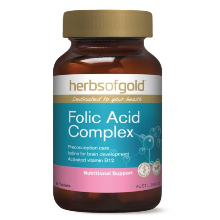 folic acid complex 60tabs folic acid | HERBS OF GOLD