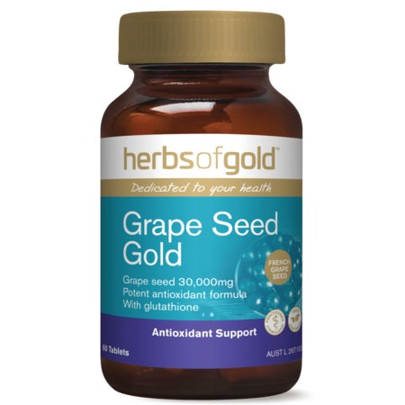 grape seed gold 120tabs | HERBS OF GOLD