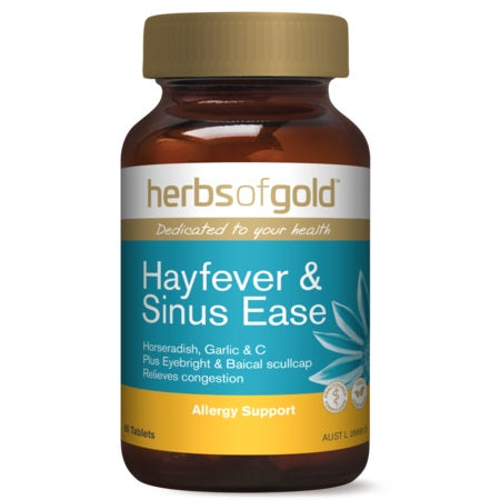 hayfever & sinus ease 60tabs complex | HERBS OF GOLD