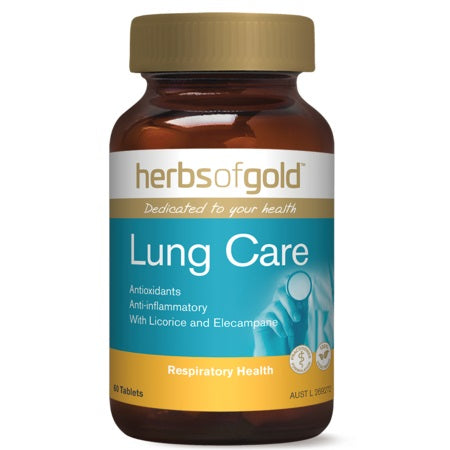 lung care 60tabs | HERBS OF GOLD