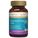 MEMORY & COGNITION GOLD 60Tabs complex | HERBS OF GOLD