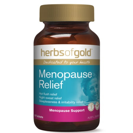 menopause relief 60tabs | HERBS OF GOLD
