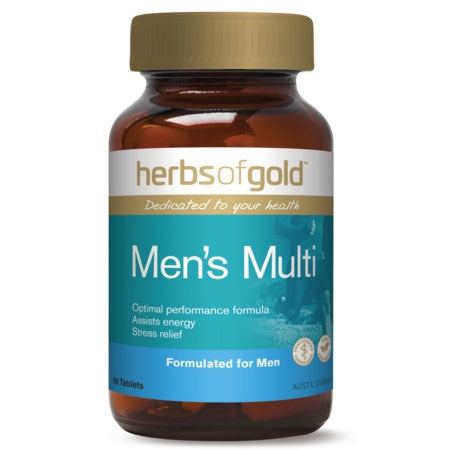 MEN'S MULTI 60Tabs complex | HERBS OF GOLD