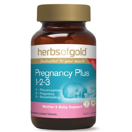 PREGNANCY PLUS 1-2-3 60Tabs | HERBS OF GOLD