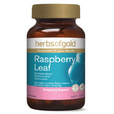 RASPBERRY LEAF 60Tabs Raspberry (Rubus idaeus) | HERBS OF GOLD