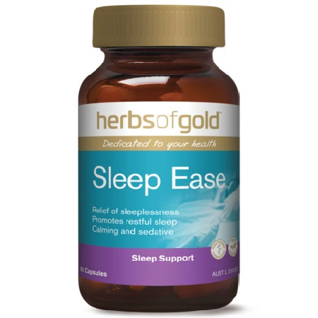 Herbs of Gold Sleep Ease 30caps Complex | HERBS OF GOLD