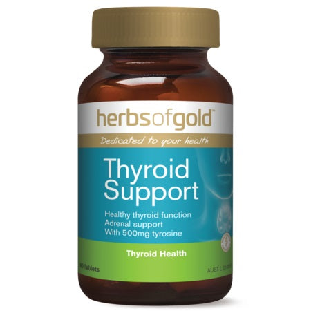 Herbs of Gold Thyroid Support 60tabs Complex | HERBS OF GOLD