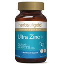ultra zinc+ 60vcaps zinc (zn) | HERBS OF GOLD