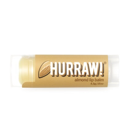 ALMOND LIP BALM 4.3g (BX24) | HURRAW