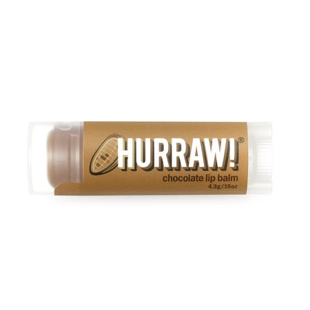 Hurraw Chocolate Lip Balm 4.3g (Bx24) | HURRAW