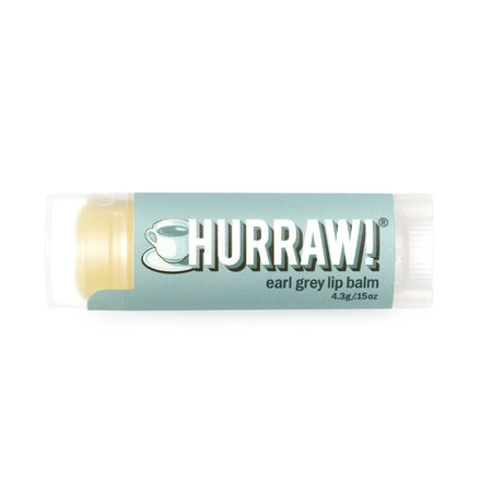 Hurraw Earl Grey Lip Balm 4.3g (Bx24) | HURRAW