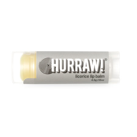licorice lip balm 4.3g (bx24) | HURRAW
