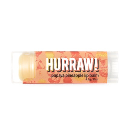 Hurraw Papaya Pineapple Lip Balm 4.3g (Bx24) | HURRAW